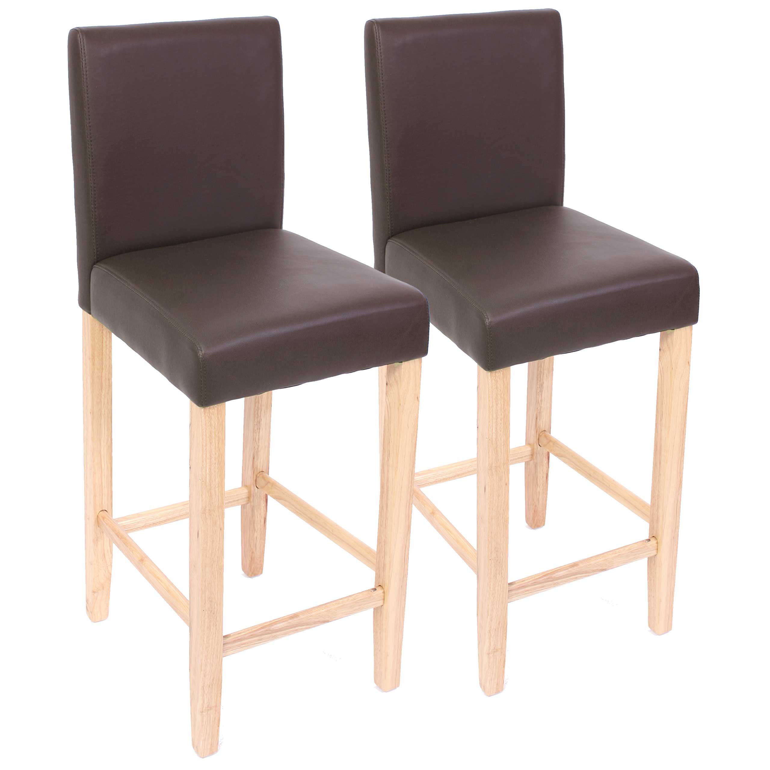2x barhocker barstuhl tresenhocker bar stuhl m37 leder for Barhocker aus leder