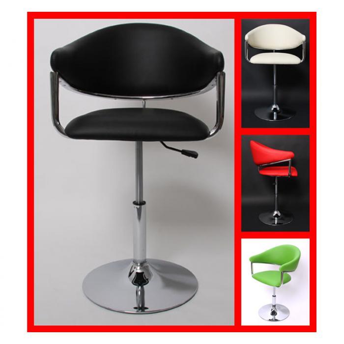 Barhocker lounge stuhl dema schwarz for Barhocker lounge