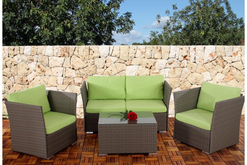 1x seitenteil poly rattan sofa sevilla modulare gastronomie qualit t grau ebay Rattan sofa grau