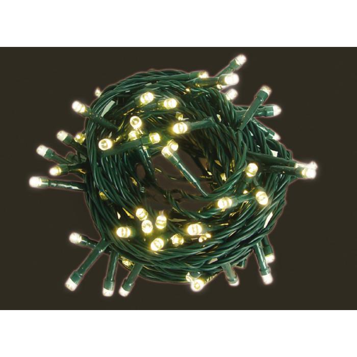 led lichterkette ld05 leuchtkette f r au en und innen kabel gr n 48 leds warmwei. Black Bedroom Furniture Sets. Home Design Ideas