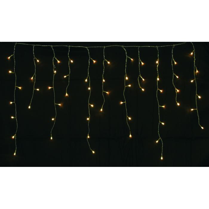 led lichterkette ld09 lichtervorhang eiszapfen f r au en und innen 120 leds warmwei. Black Bedroom Furniture Sets. Home Design Ideas