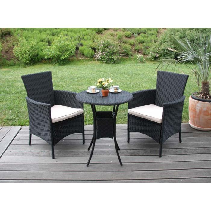 gartensessel korbsessel romv poly rattan alu 85 5x61x60 cm anthrazit. Black Bedroom Furniture Sets. Home Design Ideas