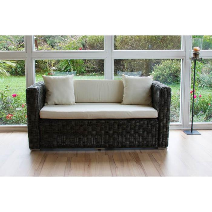 luxus poly rattan alu sofa garnitur romv 2 2 2 grau rundes rattan. Black Bedroom Furniture Sets. Home Design Ideas