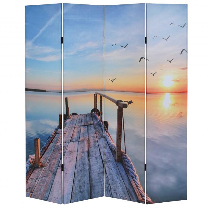 foto paravent t234 paravent raumteiler trennwand 180x160cm sonnenuntergang. Black Bedroom Furniture Sets. Home Design Ideas