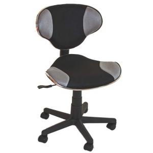 b rostuhl drehstuhl genua atmungsaktives netz ergonomische form grau. Black Bedroom Furniture Sets. Home Design Ideas