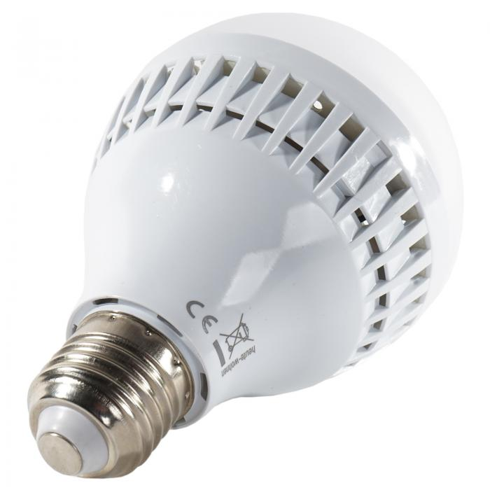 Reality|Trio LED-Deckenfluter Stehlampe in chrom, 5W-LED, EEK A+, Acrylschirm wei�