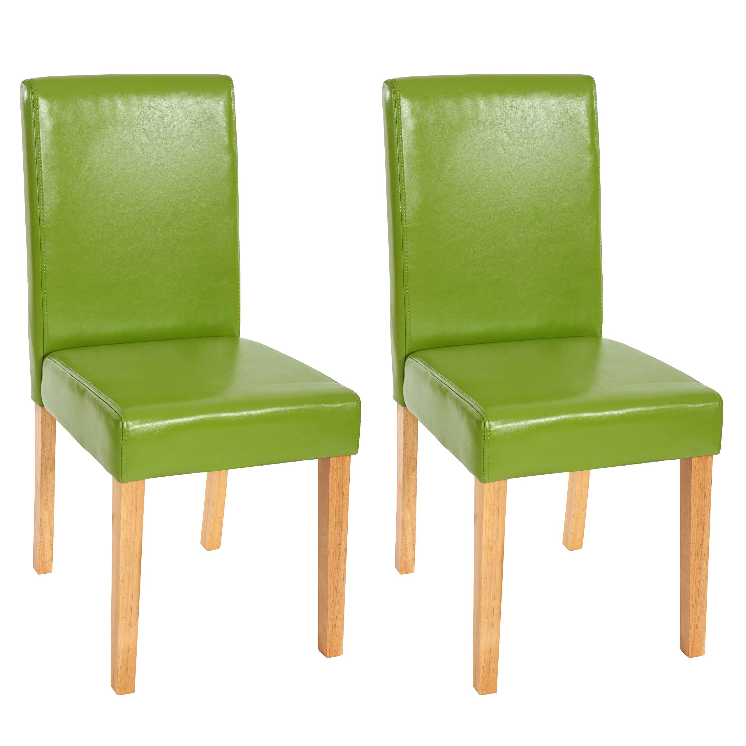 2x esszimmerstuhl stuhl lehnstuhl littau kunstleder for Stuhl 4 beine