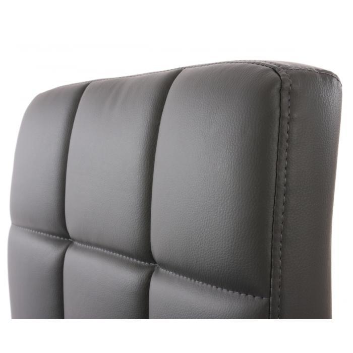 2x esszimmerstuhl drehstuhl stuhl kavala kunstleder chrom for Kunstleder stuhl grau