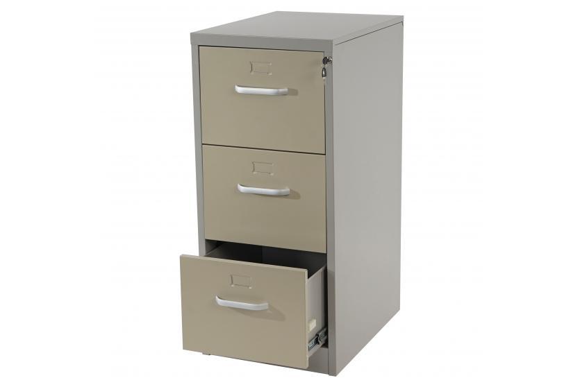 h ngeregisterschrank boston b roschrank aktenschrank 103x46x62cm beige grau. Black Bedroom Furniture Sets. Home Design Ideas