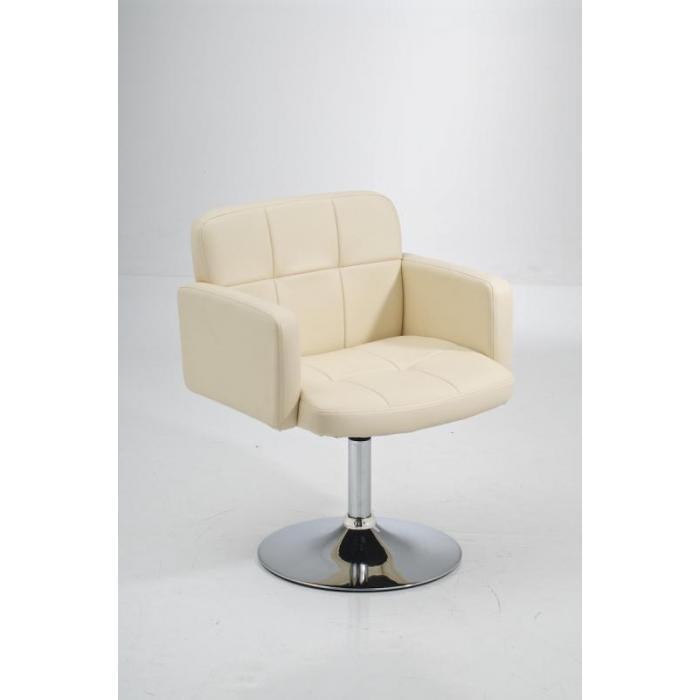 Los Angeles Lounger, Kunstleder ~ creme