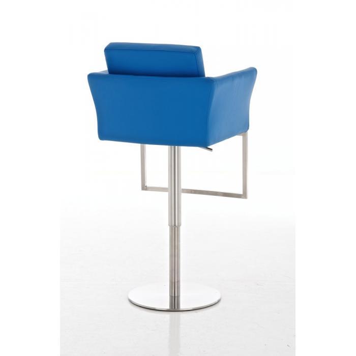 barhocker cp126 barstuhl kunstleder blau. Black Bedroom Furniture Sets. Home Design Ideas