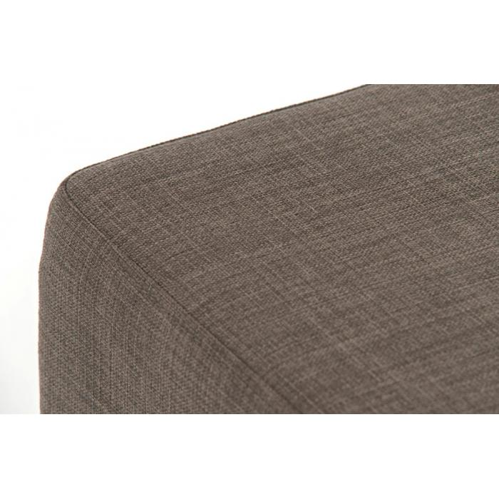 Barhocker cp139 barstuhl textil 76cm grau for Barstuhl grau