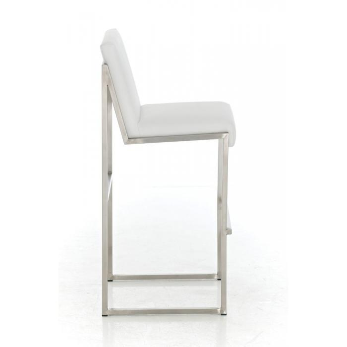 barhocker cp192 barstuhl gestell edelstahl wei. Black Bedroom Furniture Sets. Home Design Ideas
