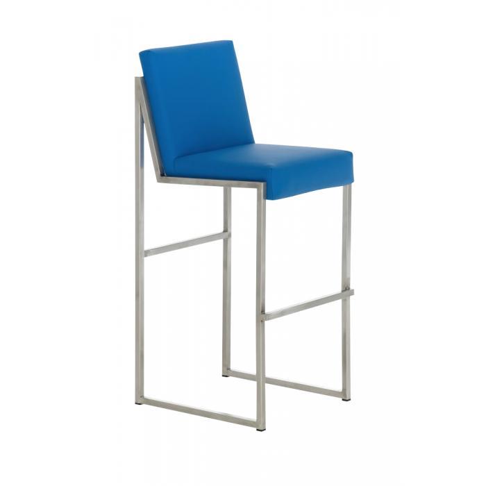barhocker cp192 barstuhl gestell edelstahl blau. Black Bedroom Furniture Sets. Home Design Ideas