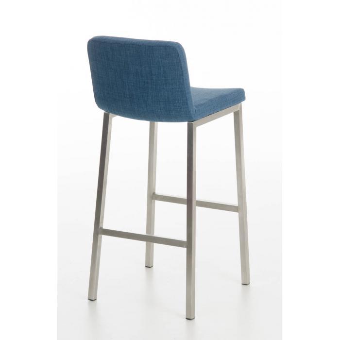 barhocker cp183 barstuhl gestell silber textil blau. Black Bedroom Furniture Sets. Home Design Ideas