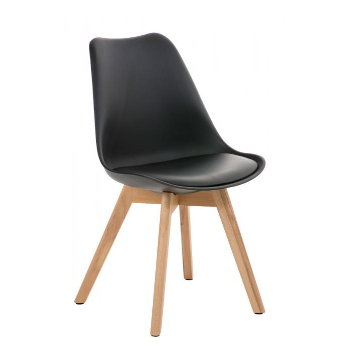Esszimmerstuhl cp510 lehnstuhl konferenzstuhl for Esszimmerstuhl schwarz kunstleder