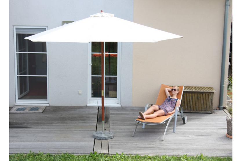 sonnenschirm m33 gartenschirm holz 3m oder 3 5m. Black Bedroom Furniture Sets. Home Design Ideas