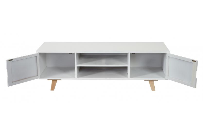 lowboard malm t256 tv rack fernsehtisch retro design. Black Bedroom Furniture Sets. Home Design Ideas