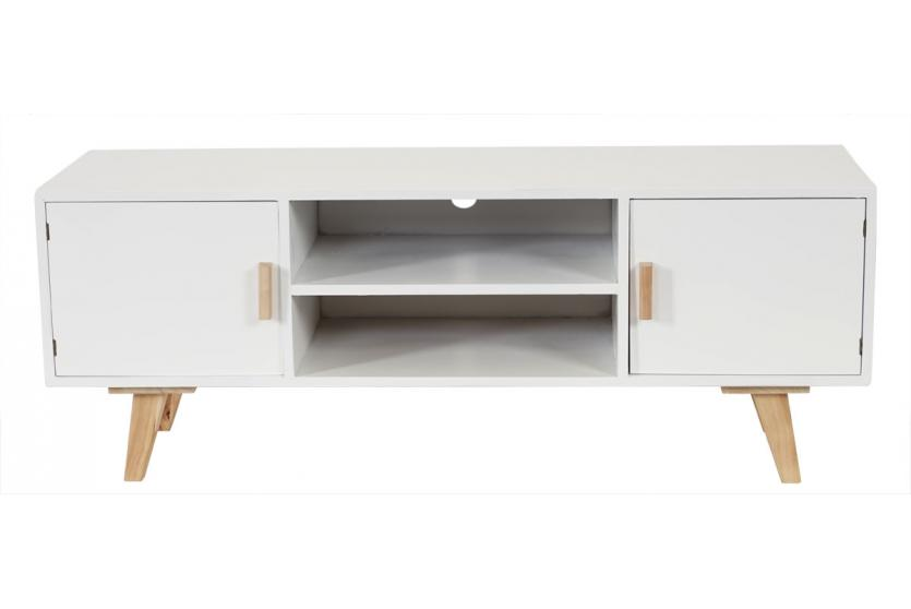 Lowboard malm t260 tv rack fernsehtisch retro design - Lowboard skandinavisches design ...