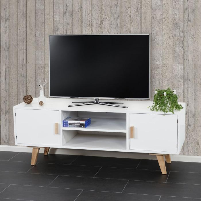 lowboard malm t260 tv rack fernsehtisch retro design. Black Bedroom Furniture Sets. Home Design Ideas