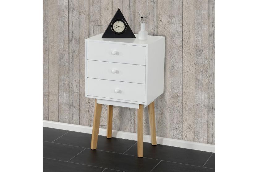 kommode vaasa t270 beistelltisch schrank retro design. Black Bedroom Furniture Sets. Home Design Ideas