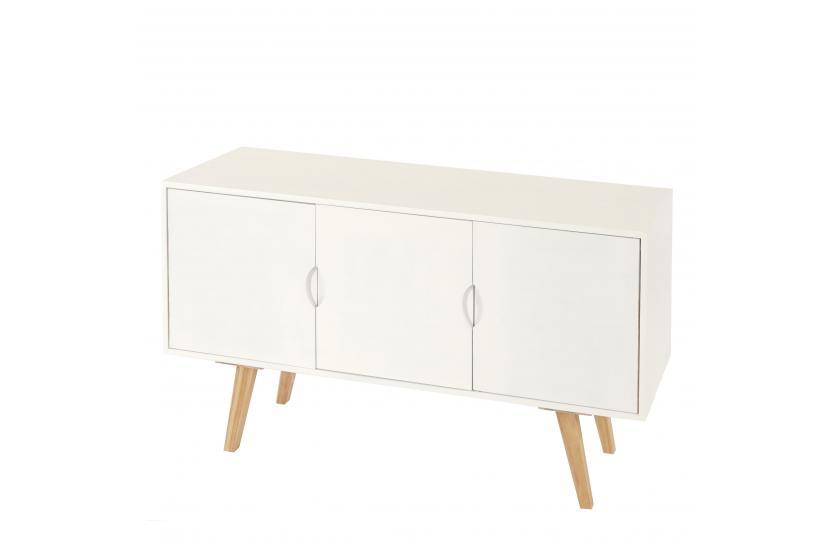 kommode malm t292 schrank sideboard retro design blaue. Black Bedroom Furniture Sets. Home Design Ideas
