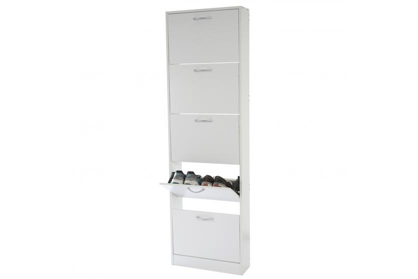 schuhschrank t363 schukipper schuhregal 170x51x17cm ebay. Black Bedroom Furniture Sets. Home Design Ideas
