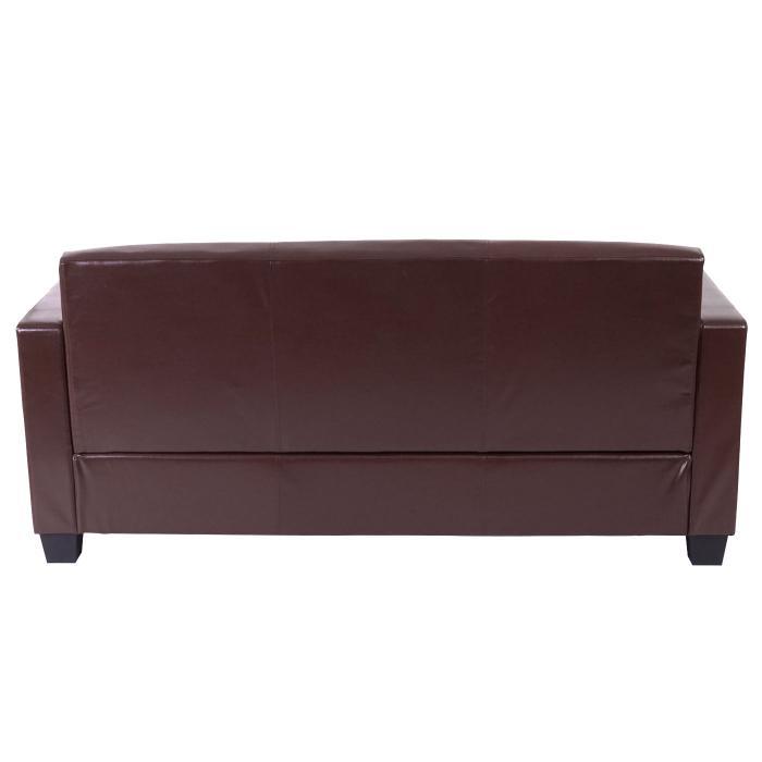 3er sofa busto loungesofa couch leder. Black Bedroom Furniture Sets. Home Design Ideas