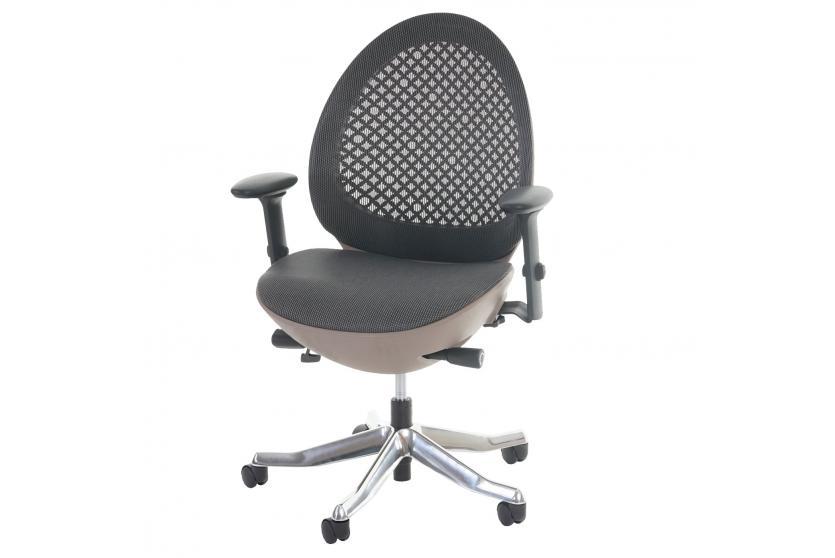 b rostuhl merryfair ovo polster netz schreibtischstuhl ergonomisch ebay. Black Bedroom Furniture Sets. Home Design Ideas