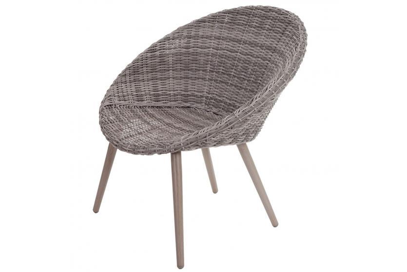 luxus poly rattan garnitur barcelona alu gestell naturgrau premium lounge set ebay. Black Bedroom Furniture Sets. Home Design Ideas