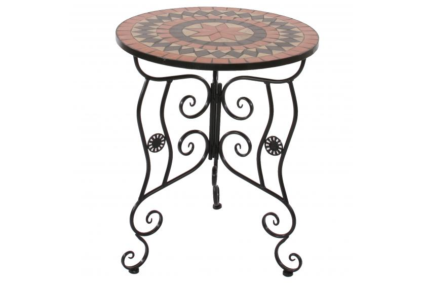 mosaiktisch andria gartentisch bistrotisch tisch mosaik. Black Bedroom Furniture Sets. Home Design Ideas