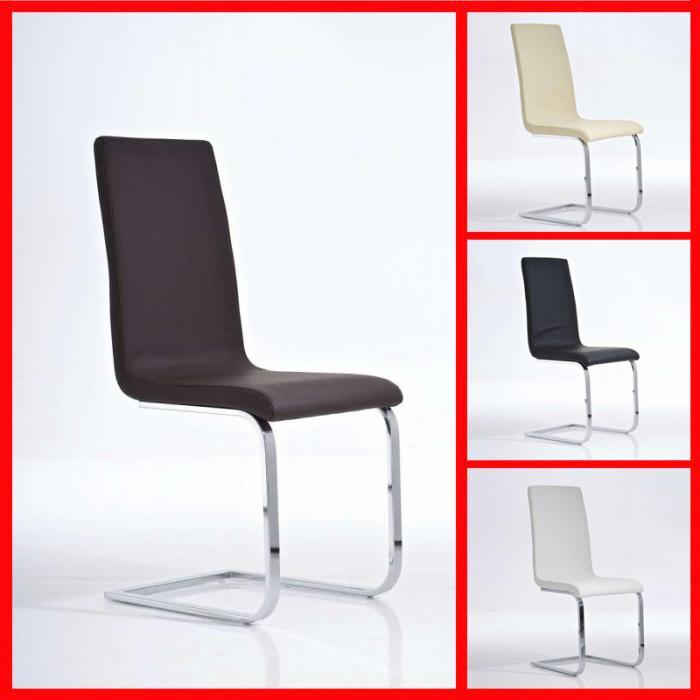 esszimmerstuhl freischwinger stuhl c12 kunstleder braun. Black Bedroom Furniture Sets. Home Design Ideas