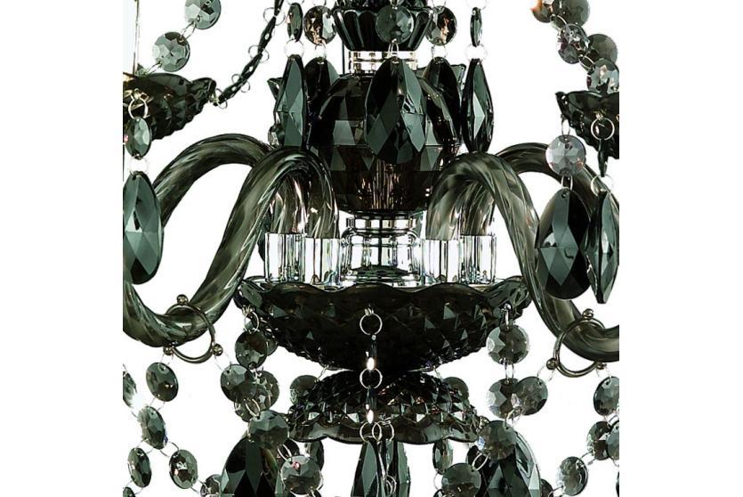 reality trio acryl kronleuchter l ster h ngelampe 5. Black Bedroom Furniture Sets. Home Design Ideas
