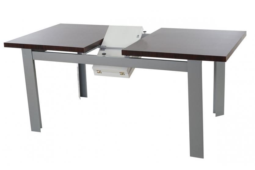 Tisch cardiff esszimmertisch esstisch ausziehbar for Esstisch walnuss ausziehbar