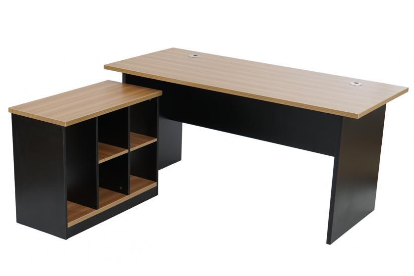 Schreibtisch b rotisch eckschreibtisch calgary for Eckschreibtisch buche