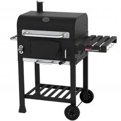 Barbecue-Smoker Grill J54, Standgrill R�ucherofen Holzkohlegrill, 106x67x90cm