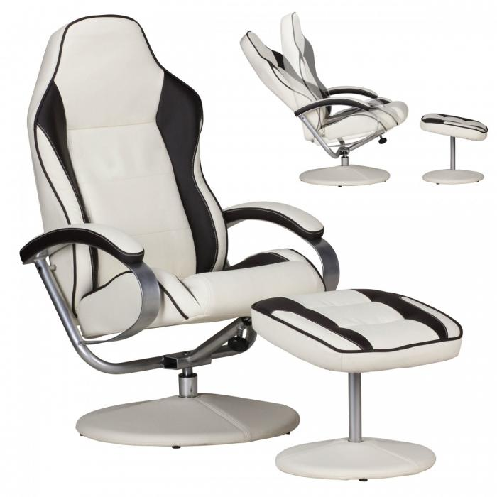 racing fernsehsessel a153 relaxsessel relaxliege mit. Black Bedroom Furniture Sets. Home Design Ideas