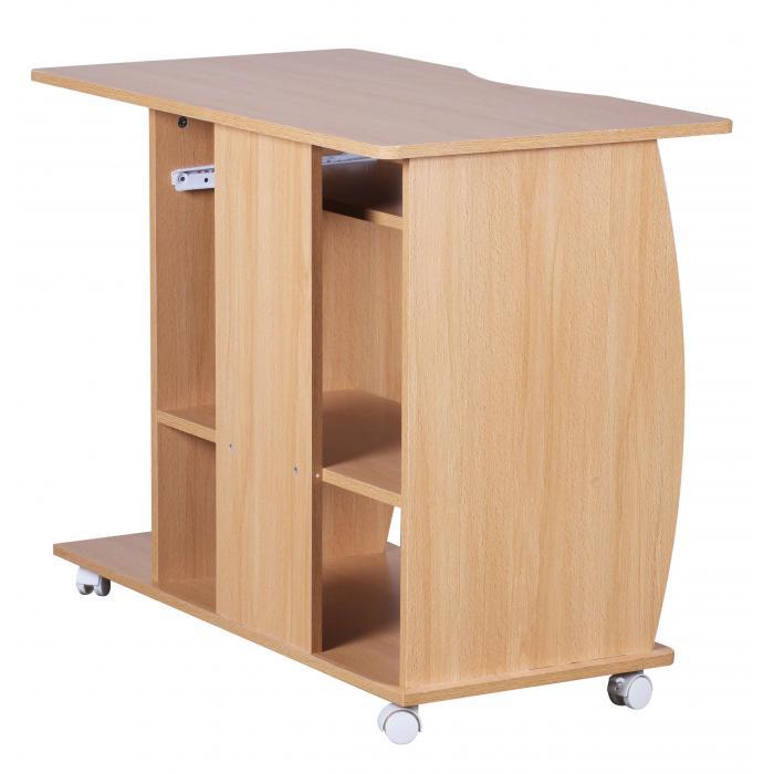 computertisch a069 schreibtisch b rotisch mit rollen. Black Bedroom Furniture Sets. Home Design Ideas