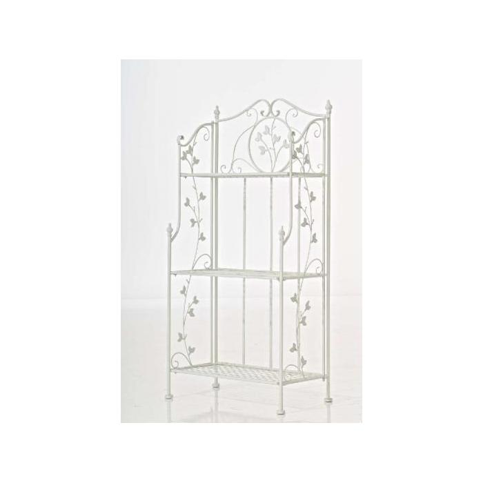 Standregal Reus 118x58x33cm, antik-weiss