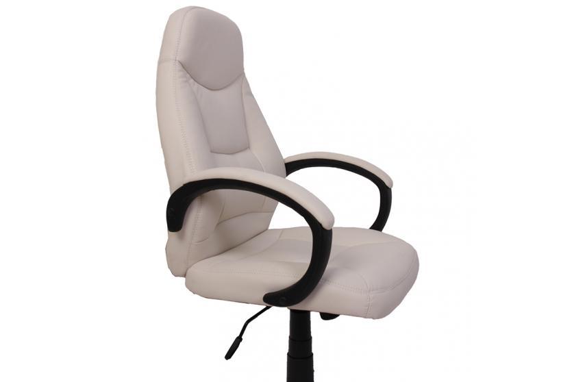 drehstuhl chefsessel paris m83 kunstleder schwarz wei ausw hlbares fu kreuz. Black Bedroom Furniture Sets. Home Design Ideas