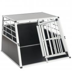 Hundebox Transportbox Alubox Hundetransportbox ~ 69x96x90cm