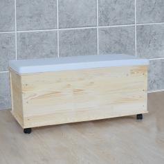 sitzbank sitzhocker aufbewahrungstruhe w schekorb. Black Bedroom Furniture Sets. Home Design Ideas