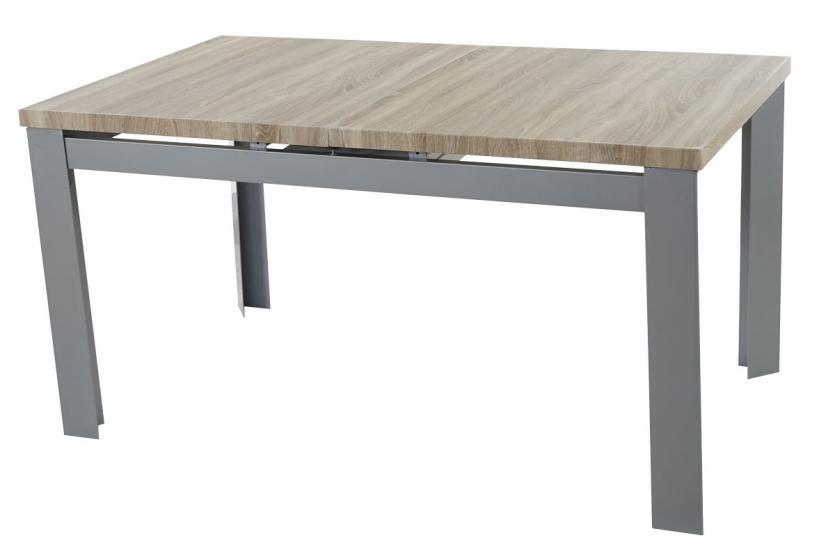 tisch cardiff esszimmertisch esstisch ausziehbar hochglanz 150 180cm eiche ebay. Black Bedroom Furniture Sets. Home Design Ideas