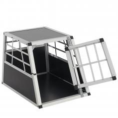 Hundebox Transportbox Alubox Hundetransportbox ~ 50x54x69cm