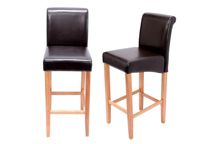 2x barhocker barstuhl lancy leder kunstleder textil helle oder dunkle beine ebay. Black Bedroom Furniture Sets. Home Design Ideas
