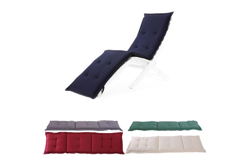 auflage f r sonnenliege liegestuhl deckchair 190x58x7 cm ebay. Black Bedroom Furniture Sets. Home Design Ideas