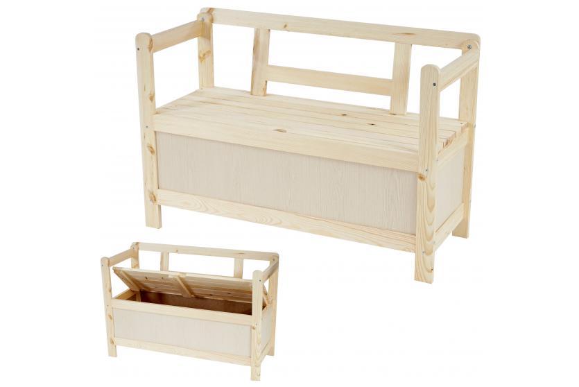 holzbank truhenbank gartenbank friesenbank kastenbank kiel. Black Bedroom Furniture Sets. Home Design Ideas