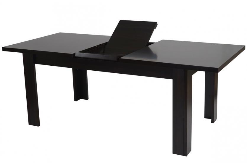 Tisch esszimmertisch esstisch dundee ausziehbar 160 for Esstisch walnuss ausziehbar