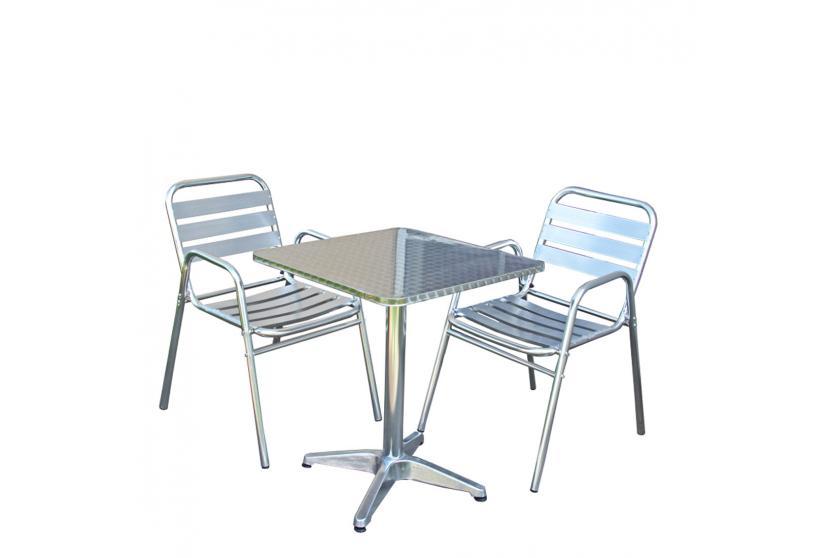 bistro garnitur garten sitzgruppe sitzgruppe aluminium. Black Bedroom Furniture Sets. Home Design Ideas