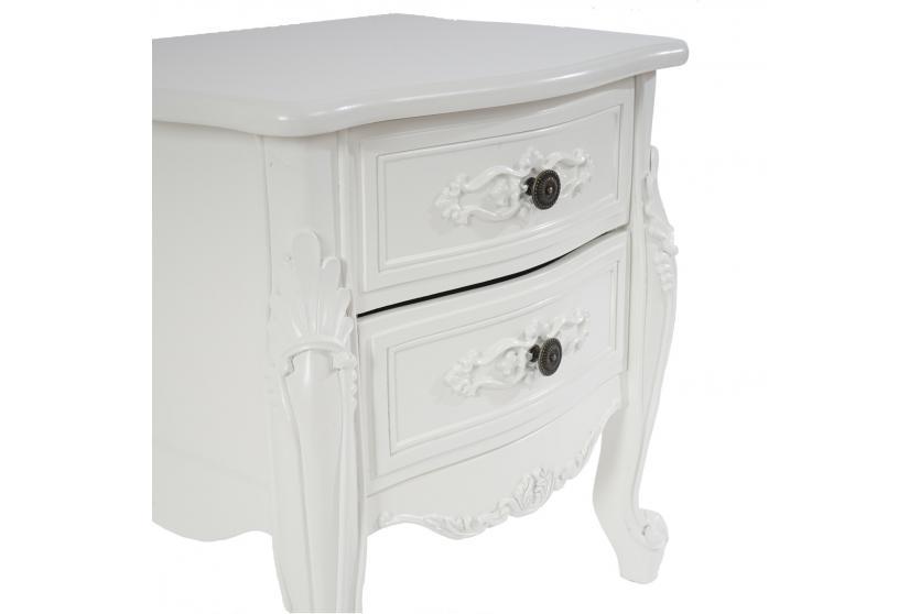 kommode nancy schrank barock antik 50x45x35cm creme wei. Black Bedroom Furniture Sets. Home Design Ideas